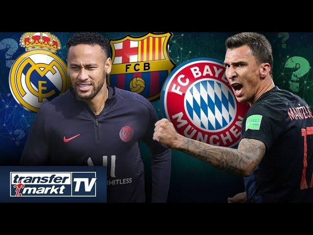 Wettbieten um Neymar – Mandzukic-Rückkehr zu Bayern wird konkreter   TRANSFERMARKT
