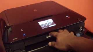 REVIEW #1 CANON PIXMA MG7520 ALL IN ONE PRINTER