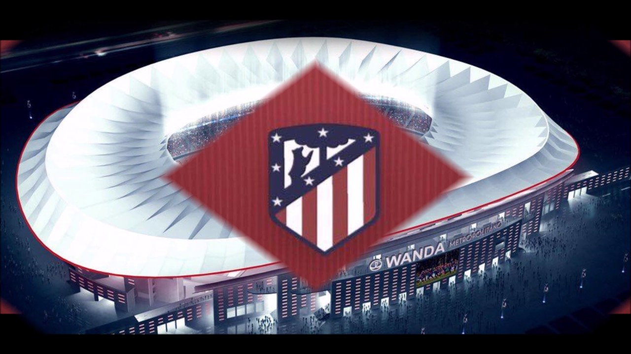 Atlético Madrid New Club Logo And Stadium Youtube