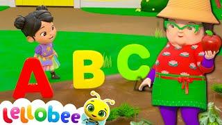 ABC Song! | @Lellobee City Farm - Cartoons & Kids Songs Kids Learning Videos | Nursery Rhymes