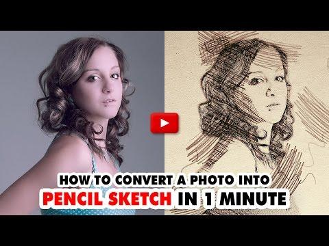Pencil Sketch Photoshop Action V.1 - Video Tutorial | Mesothelioma Attorney Directory Of Photoshop