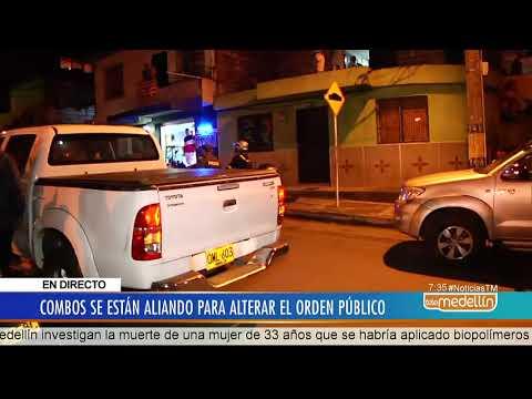 Alcalde encabeza operativos contra los combos en la Comuna 13 [Noticias] - Telemedellín