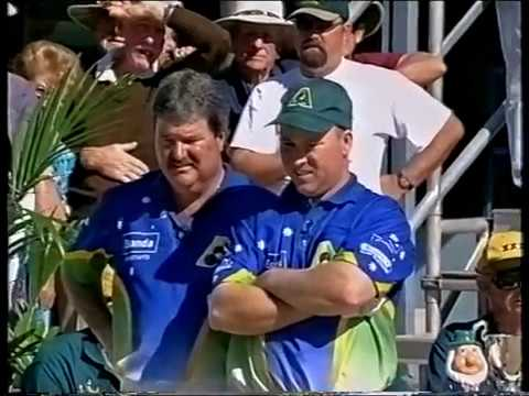 Lawn Bowls 2001 Australia VS Ireland - Men Pairs Series (Part 2 of 3)