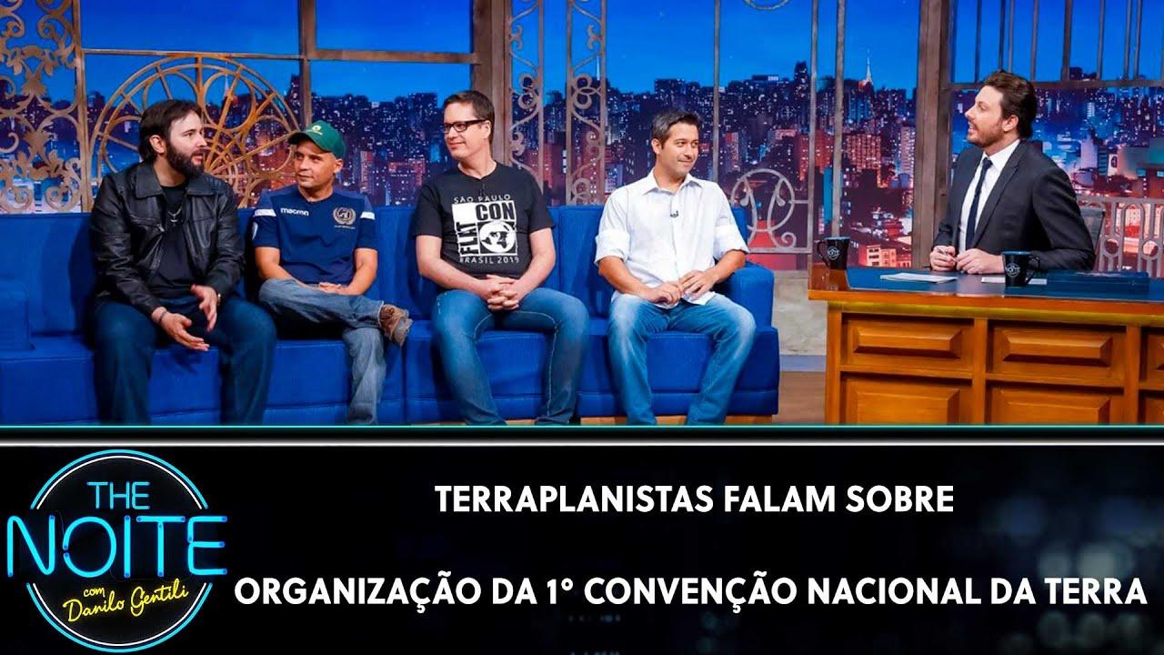 Terraplanistas falam sobre organização da 1° Convenção Nacional da Terra | The Noite (29/10/19)
