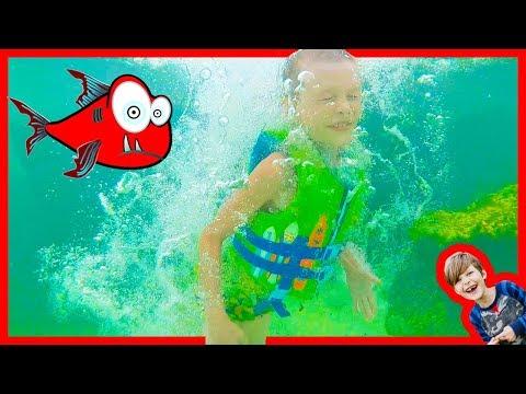 Axel's Fun in the Cenote!
