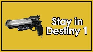 Destiny 2: Why I Don't Want Hawkmoon to Return (& 2 More Destiny 1 Questions)