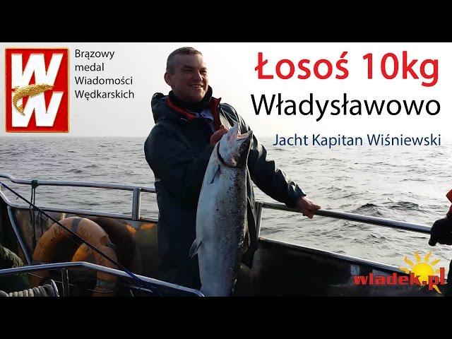 WładekTV - 10 kg łosoś na wyprawie dorszowej we Władysławowie