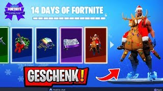 *NEW* ALL 14 DAYS OF CHRISTMAS GIFTS with GAMEPLAY!! (Last Reward Leaked)   Fortnite Season 7