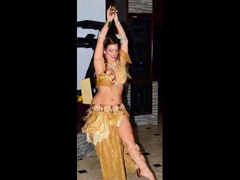 Costume Design with Sa'diyya!  Bold Gold Vintage Futuristic Warrior Costume!