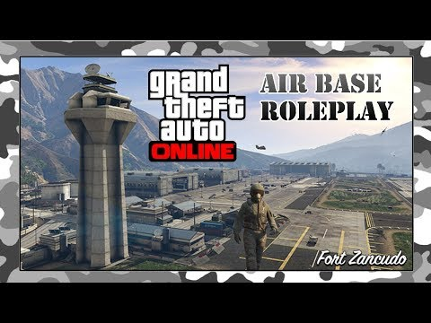 GTA 5 ROLEPLAY #2 Air Force milsim - Xbox One