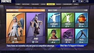 DAILY FORTNITE ITEM SHOP! WEEKLY ITEMS AND DAILY ITEMS AND BRAND NEW SKINS RESET#29