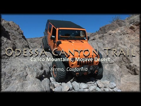Odessa Canyon Trail and Doran Loop Off-road Jeep Adventure