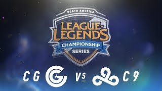Video CG vs. C9 - Week 3 Day 2 | NA LCS Spring Split | Clutch Gaming vs. Cloud9 (2018) download MP3, 3GP, MP4, WEBM, AVI, FLV Juni 2018
