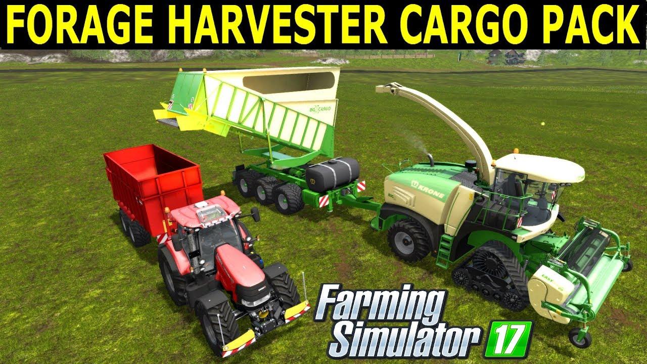 Farming Simulator Mods Forage Harvester Cargo Pack