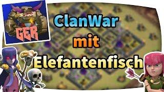 [Facecam] ClanWar mit Elefantenfisch #18 // Let´s Play Clash of Clans (German/HD)
