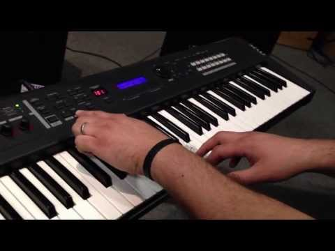 Yamaha MX61 61 Key Music Synthesizer Available at HB Pro Sound in El Paso, Texas