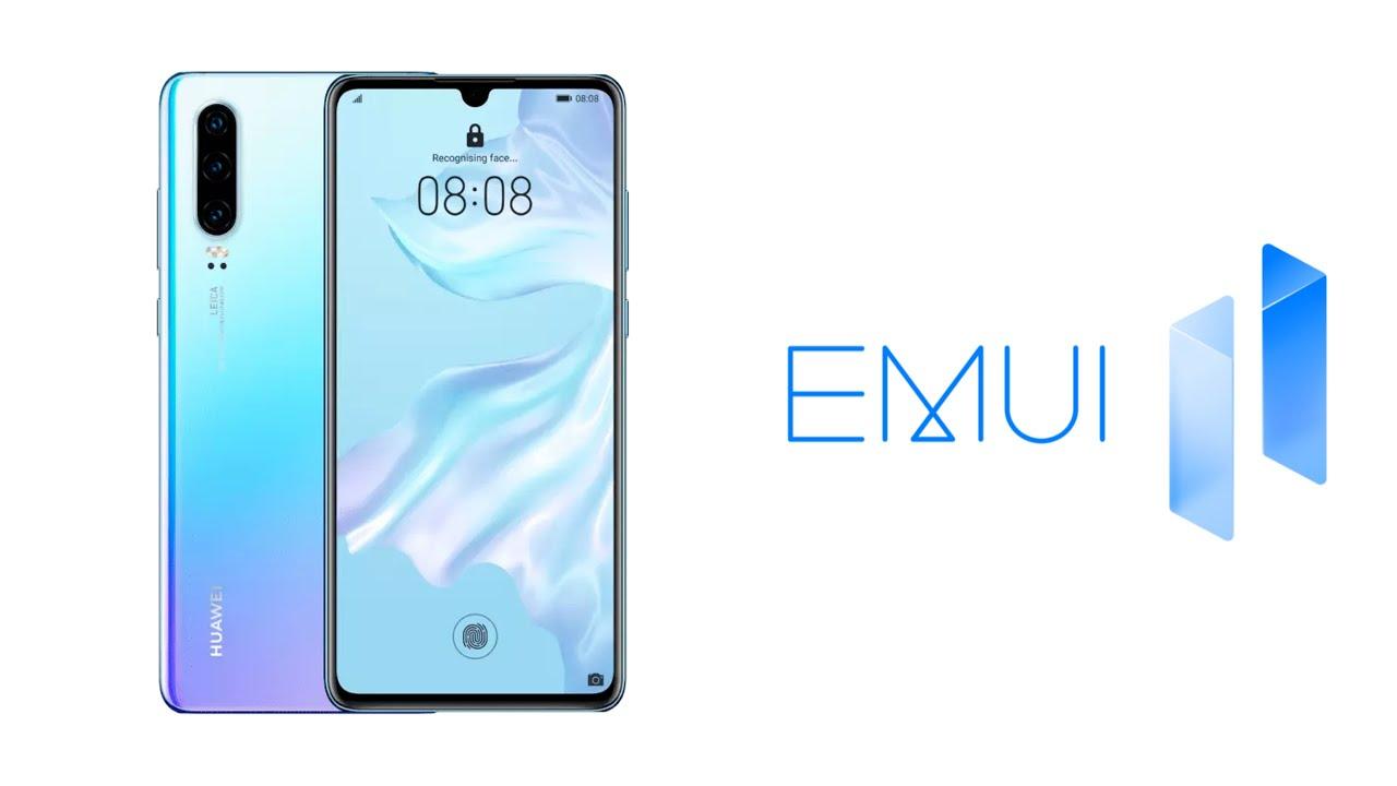 Huawei P30 receive EMUI 11   Always on Display styles & Multi Window & Gallery