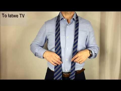 Jak zawiązać elegancki węzeł krawata