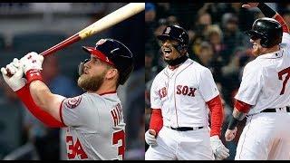 Boston Red Sox vs Washington Nationals Highlights || July 3, 2018