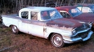 1957 Studebaker Champion Saved From The Crusher! Amazing Edsel Prototype Found!