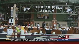 Lambeau Field prepares for Thanksgiving meal