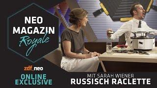 Russisch Raclette: Sarah Wiener   NEO MAGAZIN ROYALE mit Jan Böhmermann - ZDFneo