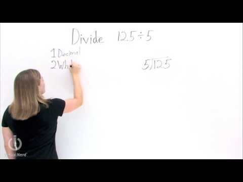 How Do You Do Long Division With Decimals Youtube