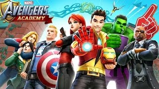 MARVEL Avengers Academy - Android Gameplay HD