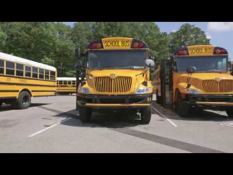 School Bus Safety Technology Driving An Ic Bus With Bendix