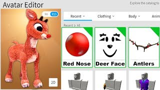 MAKING RUDOLPH A ROBLOX ACCOUNT!!