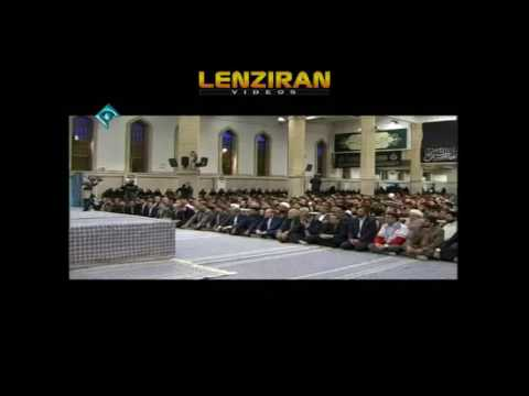 Ayatollah Khamenei anti American speech and sarcasm to Hashemi Rafsanjani
