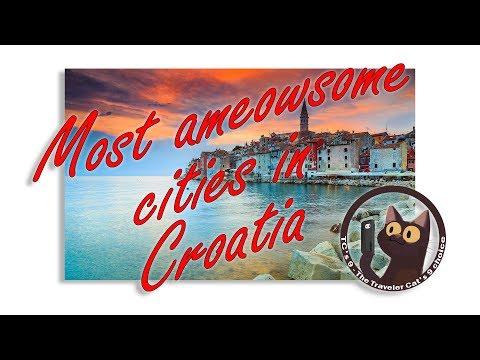 Most ameowsome cities in Croatia BEST CITIES in Croatia