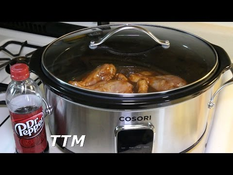 Dr Pepper Chicken In The Cosori Quart Slow Cooker