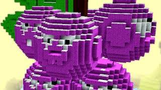 Minecraft vs Zombies | GIGA GRAPESHOT (For the good old days!) | PvZ  Land