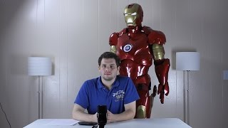 Iron Man Suit Overview - HUD, Moving Parts, Lights