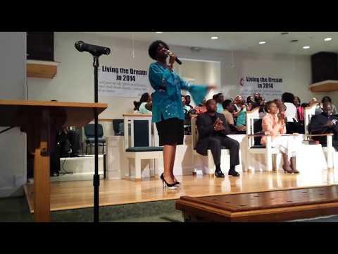 Davina Williams singing Ricky Dillard's
