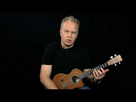 How To Play Yellow by Coldplay on Ukulele - Chords and Strumming ...