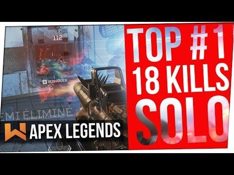 Top #1 à 18 Frags : Carnage au Wingman | Apex Legends
