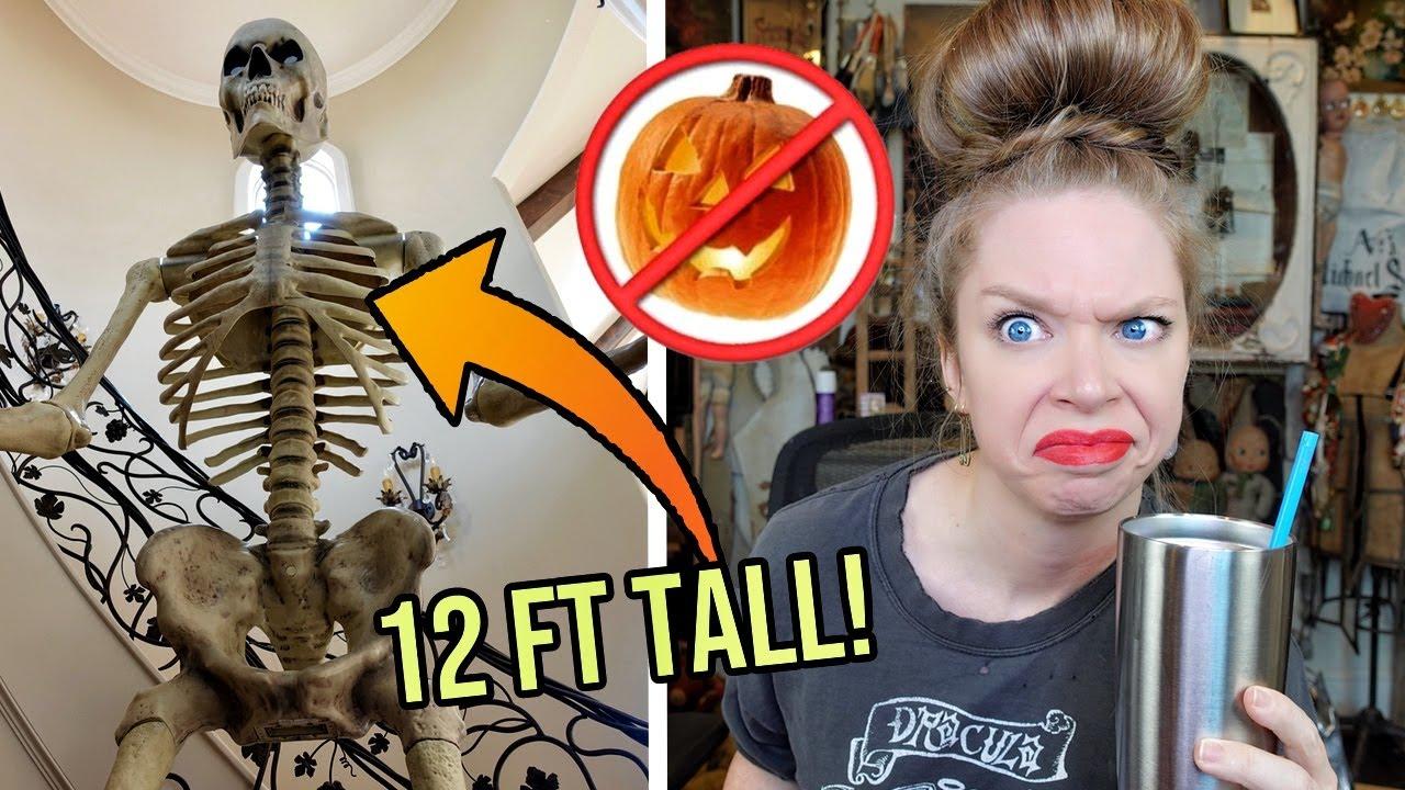 Is Halloween HAPPENING? - Vlogoween Tea Vlog