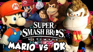 ABM: Mario Vs Donkey Kong!! Super Smash Bros Ultimate!! Gameplay Match!! ᴴᴰ