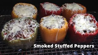 Smoked Stuffed Peppers Recipe  Stuffed Peppers On The Grill Malcom Red HowToBBQRight
