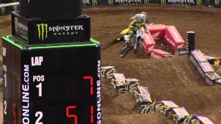 Supercross LIVE! 2013 - 2 Minutes on the Track - 450 Second Practice in Minneapolis