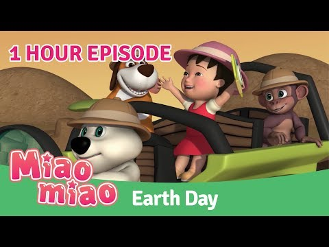 Miaomiao Earth Day Episode | Cartoons for Kids & Chinese for Kids