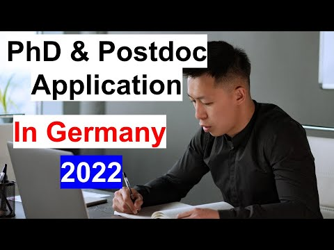 How to Apply for PhD and Postdoc in Germany: University of Hamburg