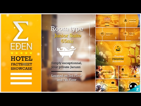 Hotel Fact-sheet Showcase | After Effects template - YouTube