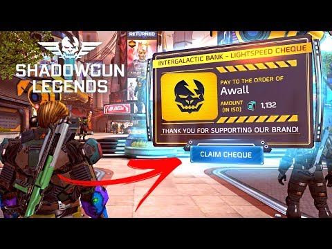 Shadowgun Legends - Sponsorship Contracts Guide For New Players | Android & iOS