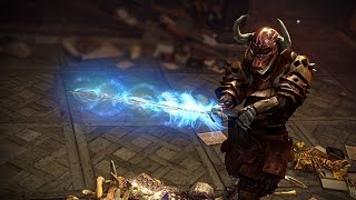 Path of Exile: Azure Seraph Weapon Effect