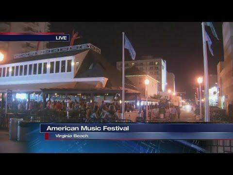 Live look at the Verizon Wireless American Music Festival