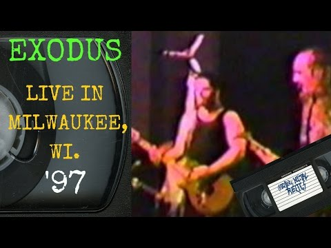 Exodus Live in Milwaukee WI July 25 1997 FULL CONCERT