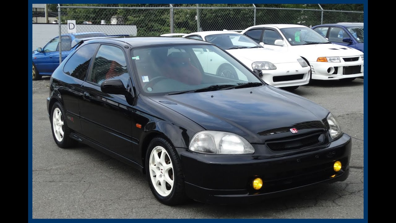 1997 honda civic type r ek9 manual b16b for sale in vancouver bc canada youtube. Black Bedroom Furniture Sets. Home Design Ideas